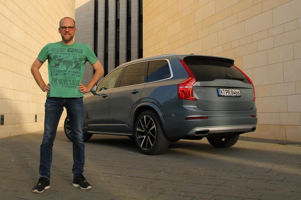 Volvo XC90 B5 AWD: Daniel Przygoda