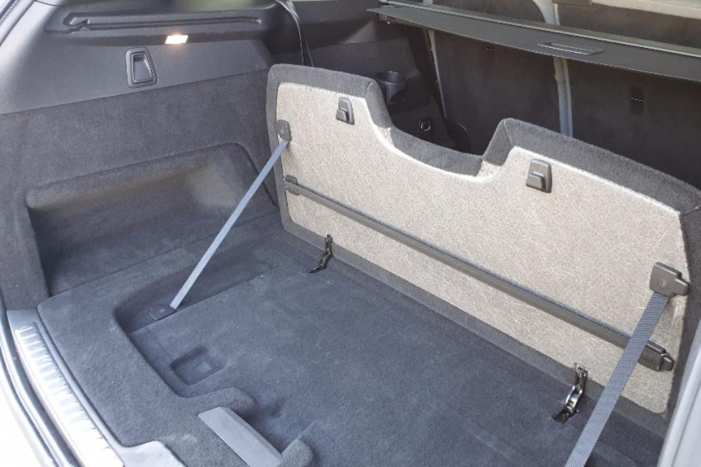 Kofferraum: Befestigungssystem