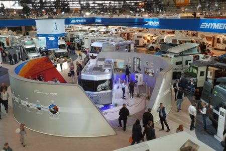 Hymer Messestand