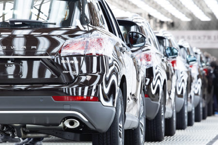 Borgward Fahrzeugproduktion