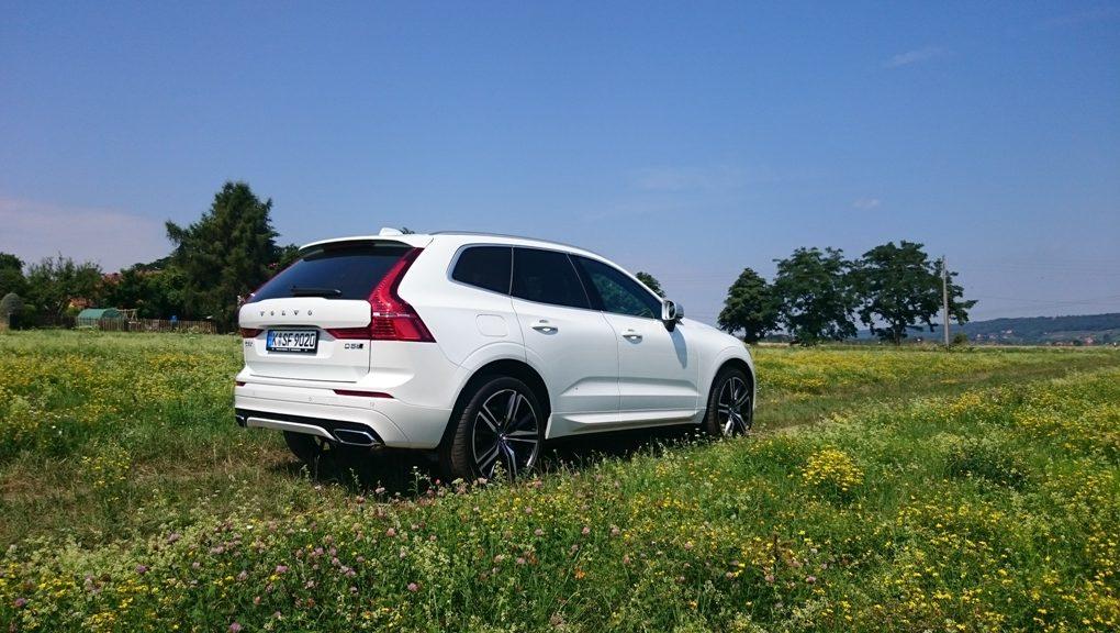 Volvo XC60 R-Design, weiß, suv, fahrbericht