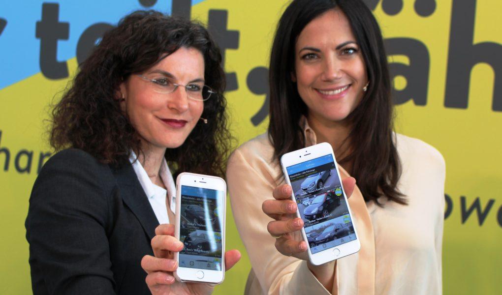 Tina Müller und Bettina Zimmermann