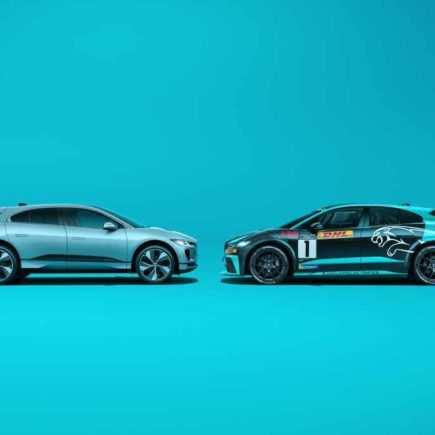 Jaguar I-Pace und I-Pace eTrophy