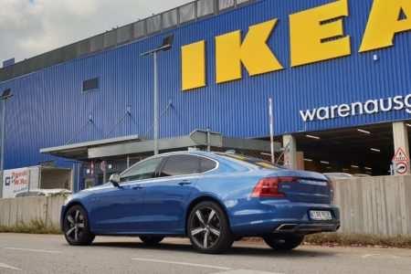 Typisch schwedisch, Volvo S90, Ikea