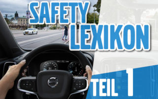 Volvo Safety Lexikon - City Safety