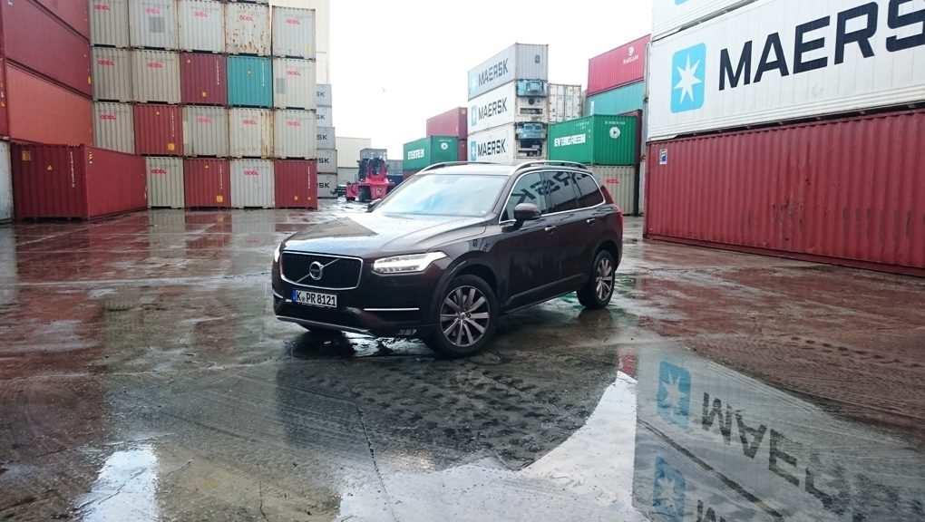 Volvo XC90 D4, SUV, braun