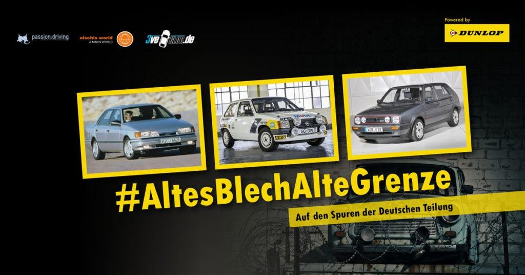 Altes Blech Alte Grenze: Auf den Spuren der Deutschen Teilung mit Ford, Opel, Volkswagen #AltesBlechAlteGrenze
