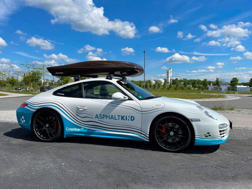 Crowdfunding-Projekt: Asphaltkind Dachbox aus Cropfiber