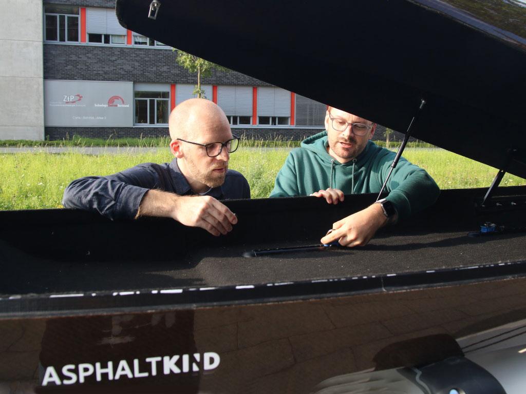 Transportsicherung für Dachbox (Cropfiber Leichtbau) Dachbox