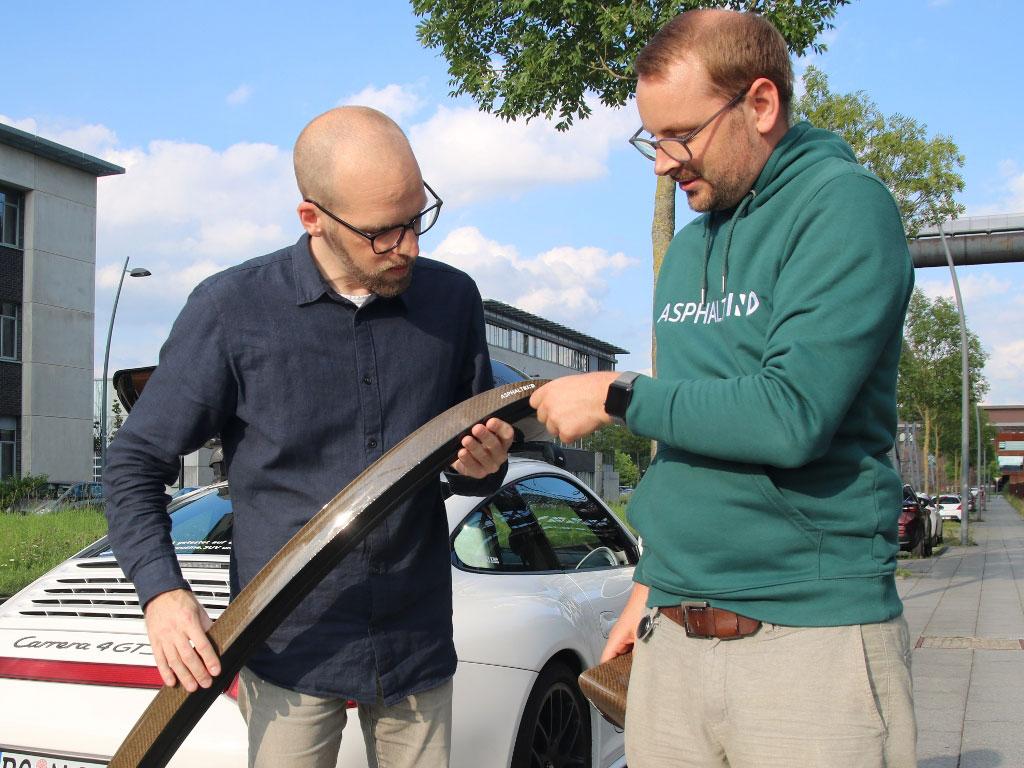 Cropfiber Leichtbau Heckspoiler für 3er BMW