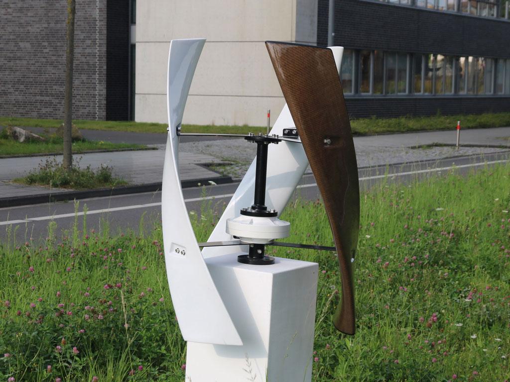 Leichtbau Windkraftanlage von Startup aus Dortmund