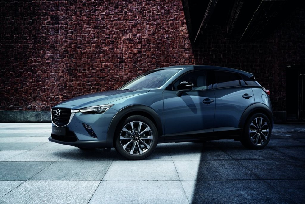 Mazda CX-3, Sondermodell Humura in Polymetal Grau