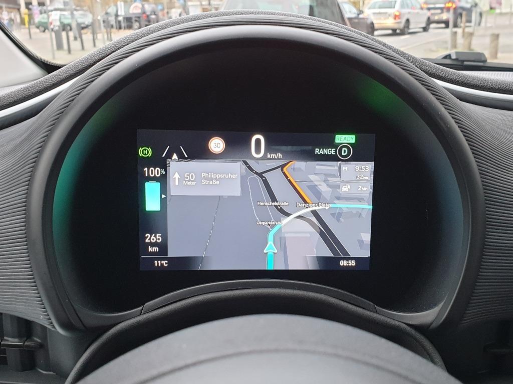 Digital-Tacho, Cockpit, Tacho, Fiat 500, TFT