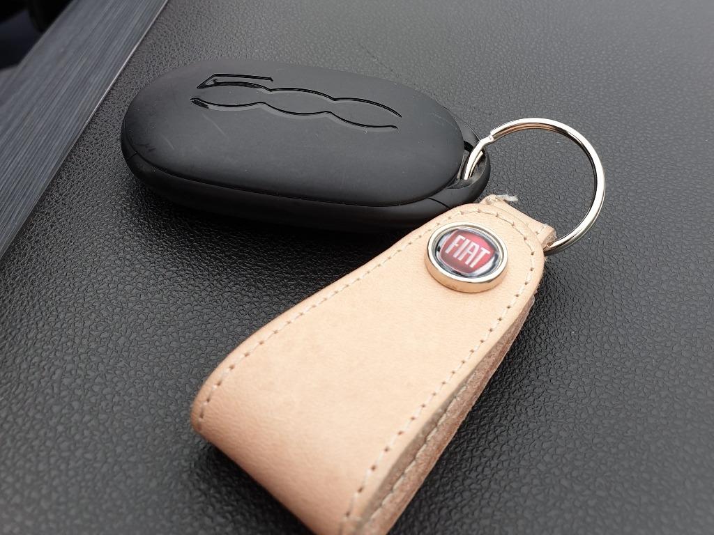 Schlüssel und Schlüsselanhänger, Fiat 500