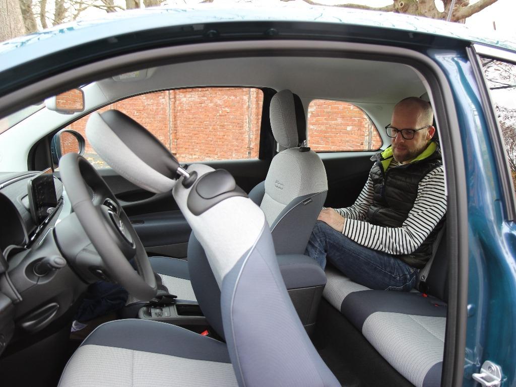 Fiat 500 Rücksitzbank, Daniel Przygoda