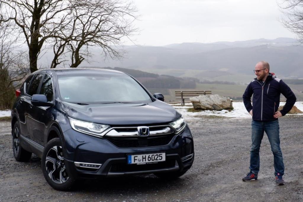 Honda CR-V Hybrid, 5. Modellgeneration (2021) im Test. Daniel Przygoda, Feldstein, Olsberg