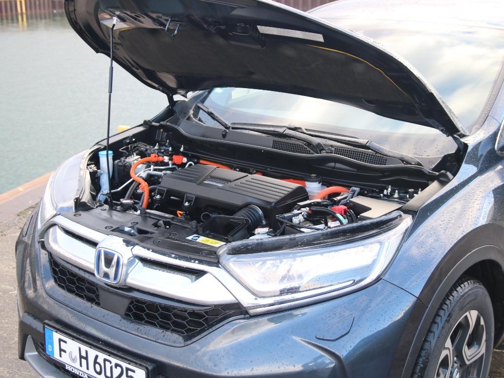 Honda CR-V Hybrid 2.0 e:HEV 183 PS (2021), Motorraum, Motorhaube