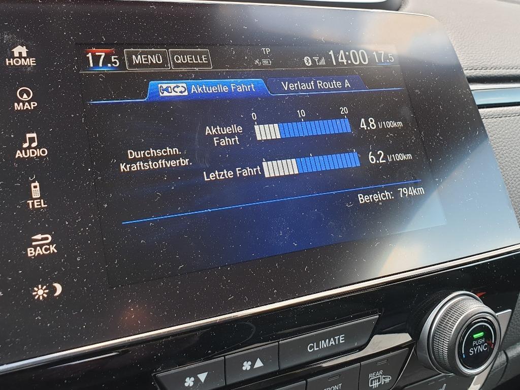 Praxisverbrauch Hybrid mit 184 PS 2WD/Frontantrieb, Erfahrung