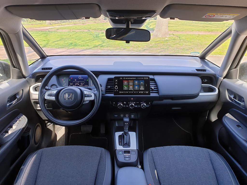 Honda Jazz 2021, Armaturenbrett: Ausstattungslinie Executive