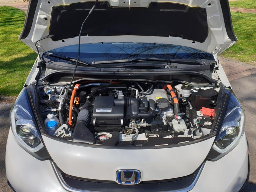 Hybrid-Antrieb (HEV) 80 kW, 109 PS, Motorraum