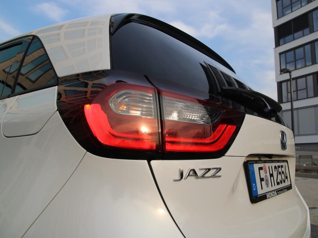 LED-Rückleuchten beim Jazz (GR)