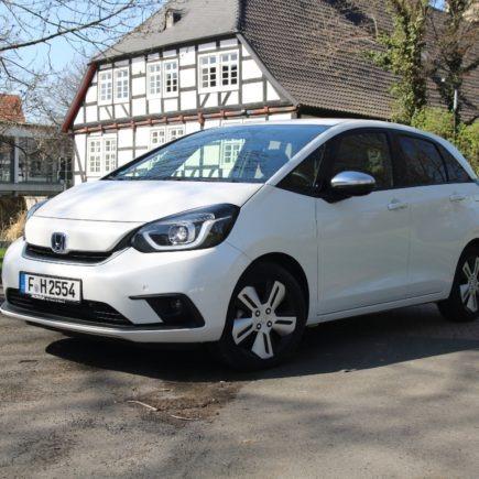 Honda Jazz in Platinum White Pearl - Kaufberatung