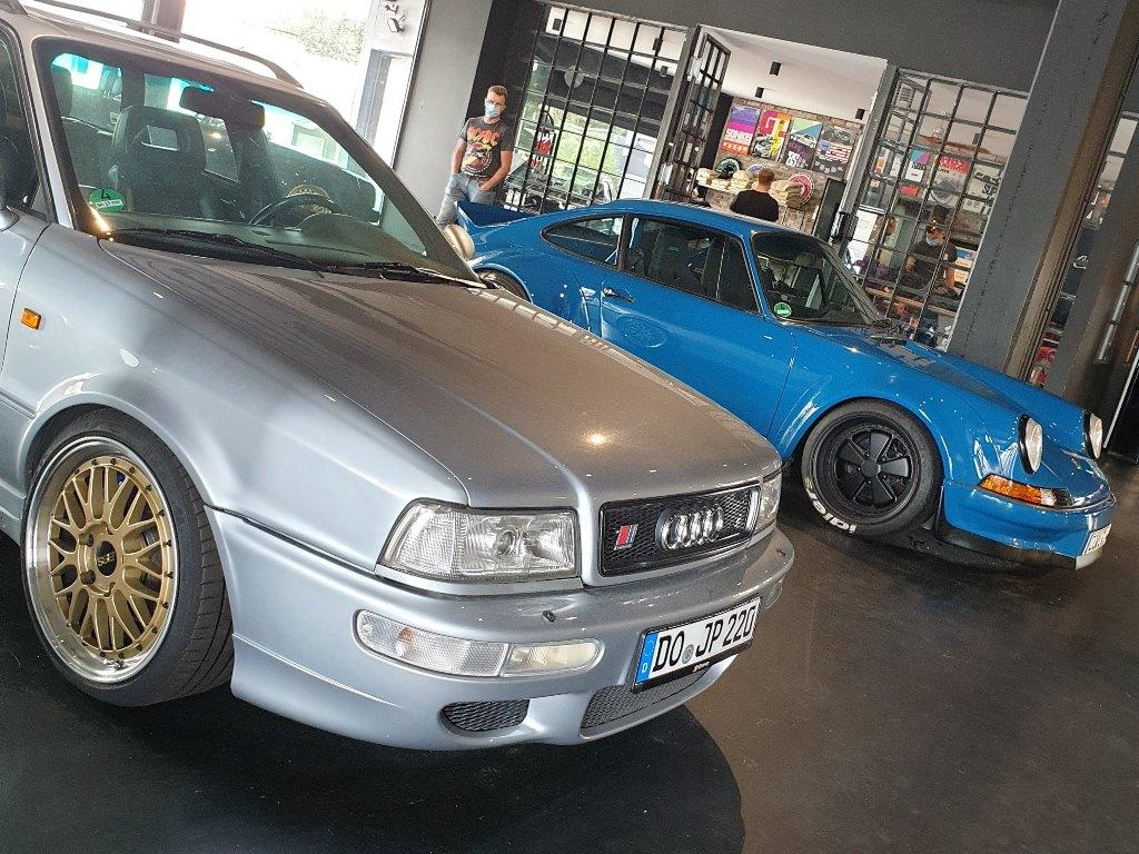 Audi RS2, BBS, Porsche Rauhwelt, Fanshop
