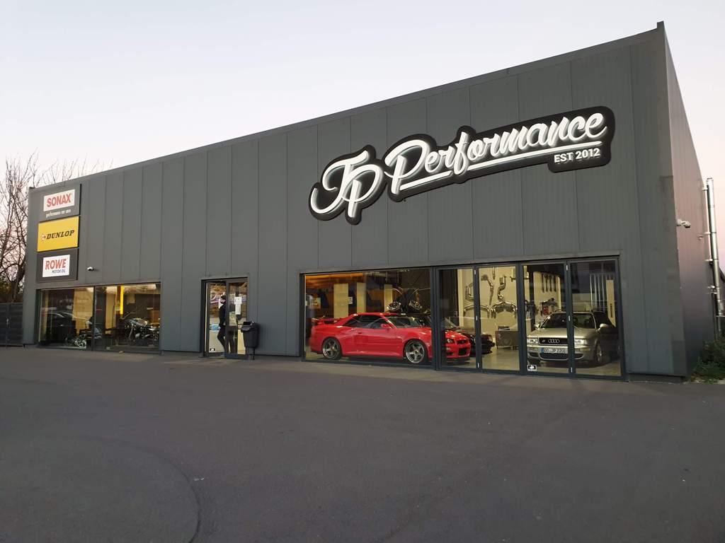 Werkstatt, Gebäude 1, JP Performance, Tuningwerkstatt