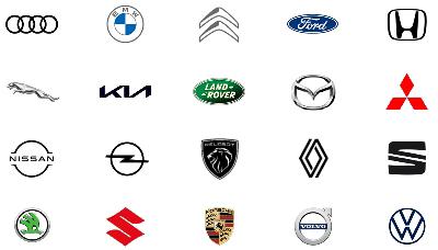 Logo-Übersicht OEM, Fahrzeughersteller 2021, Auto-Suche auf 3ve-Blog.de