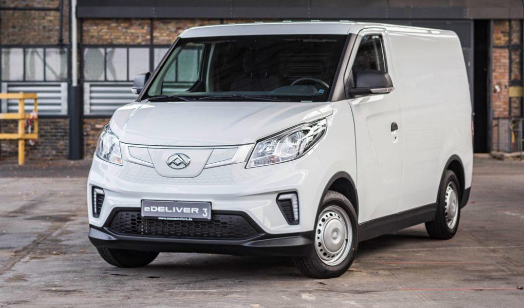 Maxus eDeliver 3 Cargo Van mit Elektroantrieb