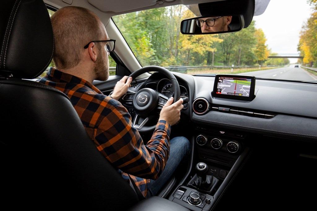 Daniel Przygoda im Mazda CX-3 Facelift, Fahrbericht