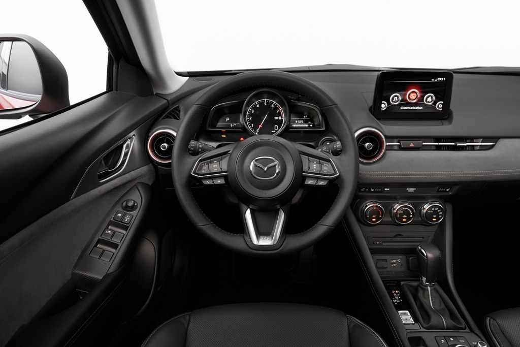 Lenkrad, Armaturenbrett, Mazda CX-3 Selection
