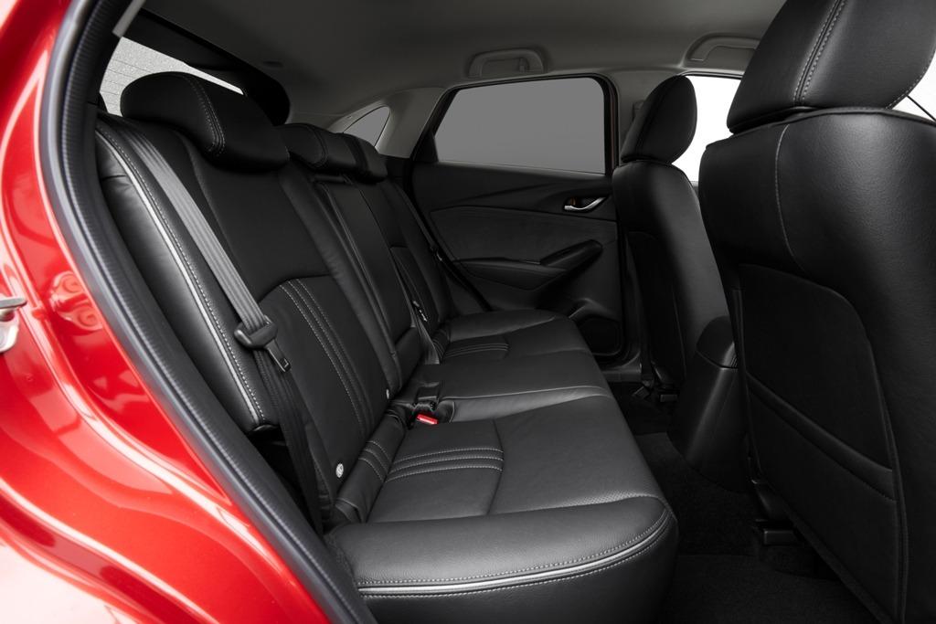 Rücksitzbank, Mazda CX-3 Selection, Innenausstattung