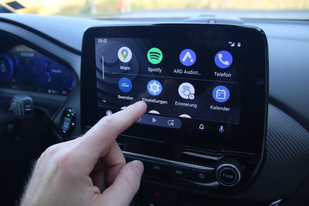 Android Auto im Ford Puma