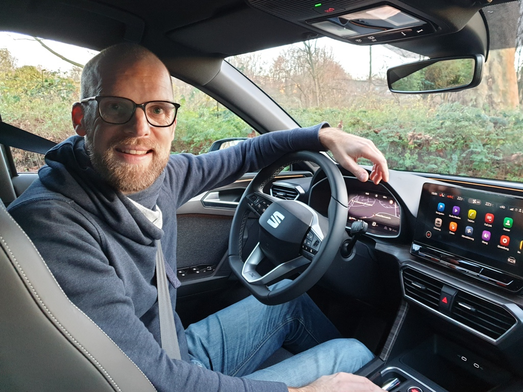 Daniel Przygoda im neuen Seat Leon IV Xcellence, Test