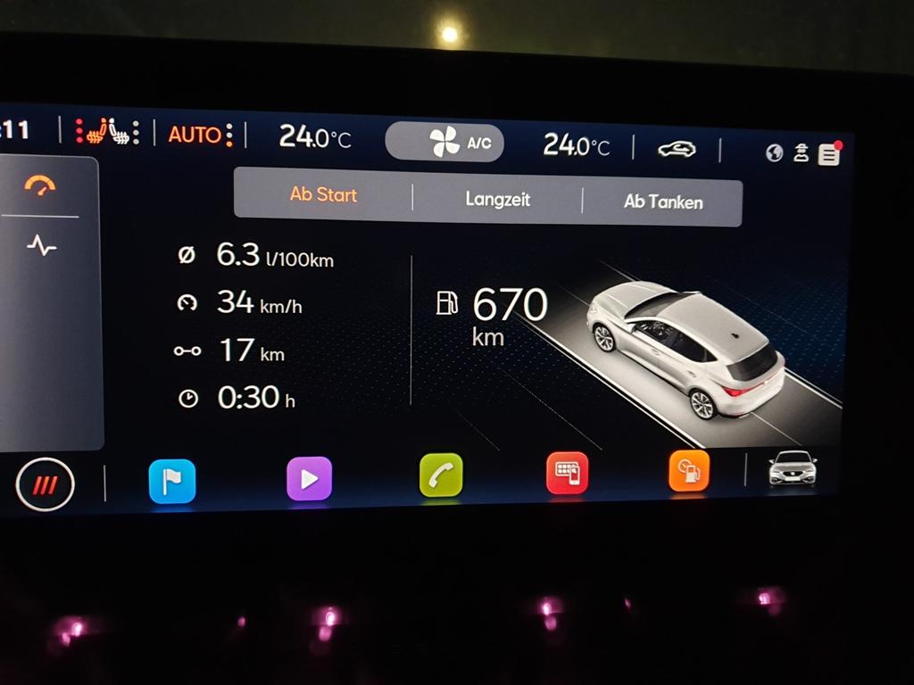Verbrauch Praxiserfahrung, Benziner eTSI mit 150 PS
