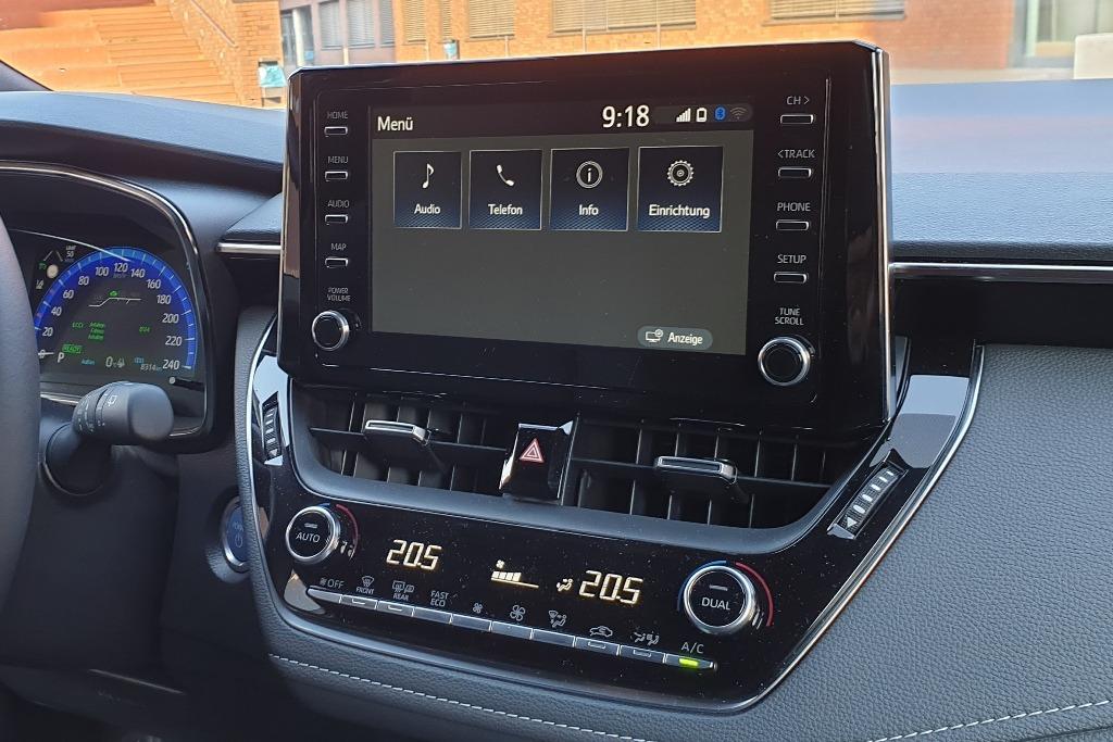 Touchscreen Infotainmentsystem