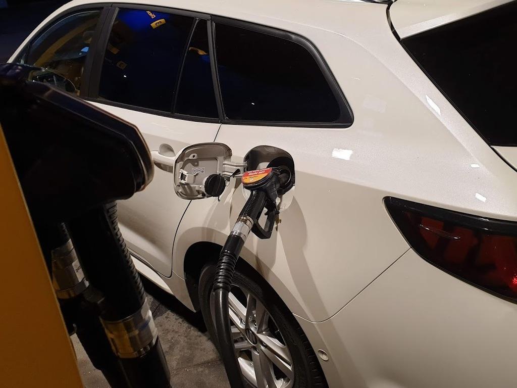 Swace Verbrauch in der Praxis, Tankstelle