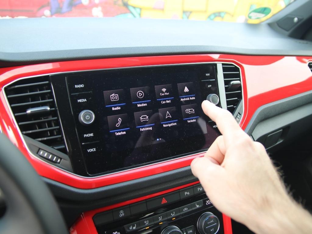 Navigationssystem Discover Media, Kachel-Optik mit Apps