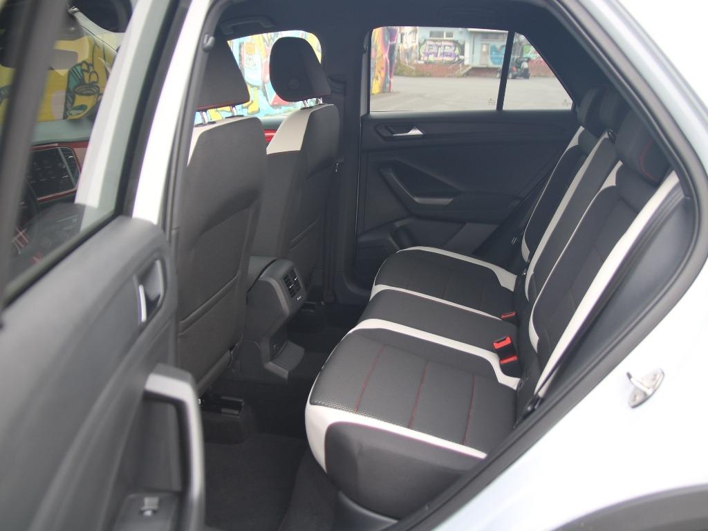 Rücksitze im T-Roc Sport mit Stoffsitzen, Isofix, Modelljahr 2020