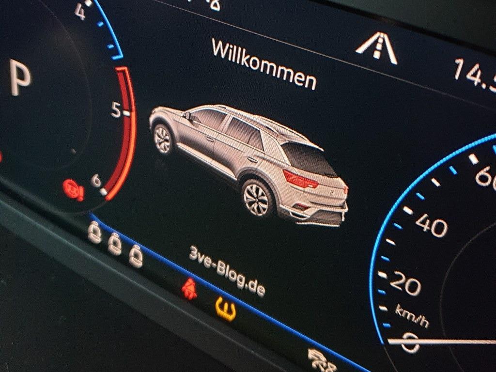Digitaltacho VW T-Roc für 3ve-Blog.de