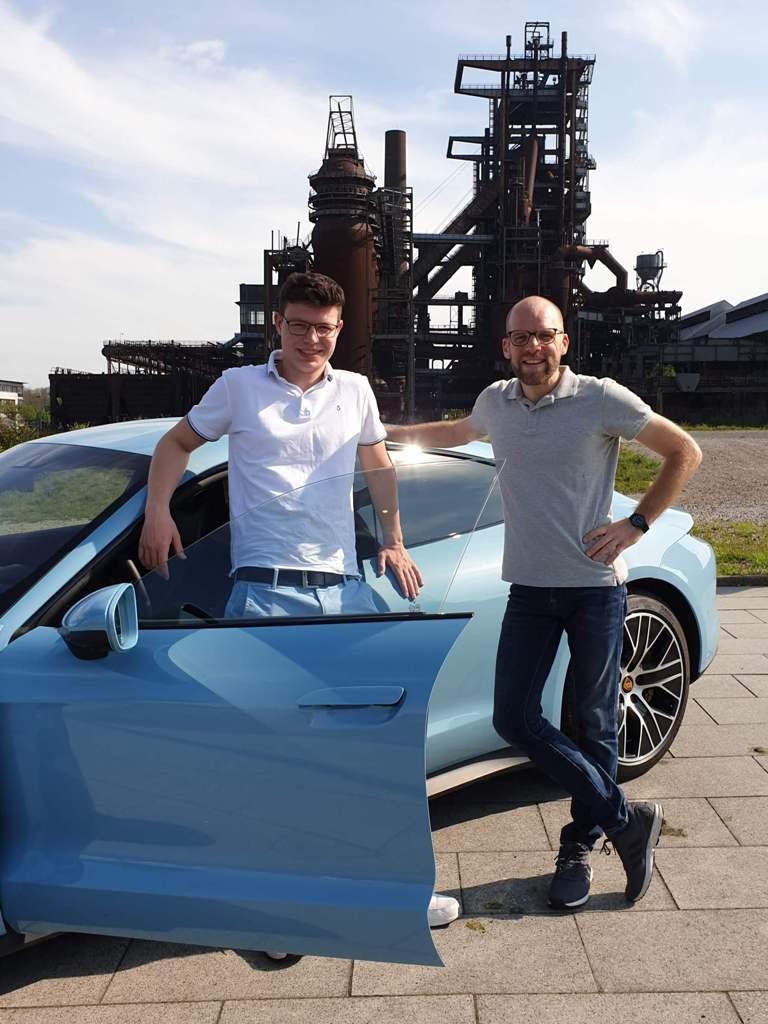 Robin Engelhardt und Daniel Przygoda, Phönix-West Dortmund