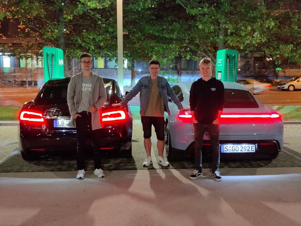 Julian Marchl, Robin Engelhardt und Hendrik Lipphold,