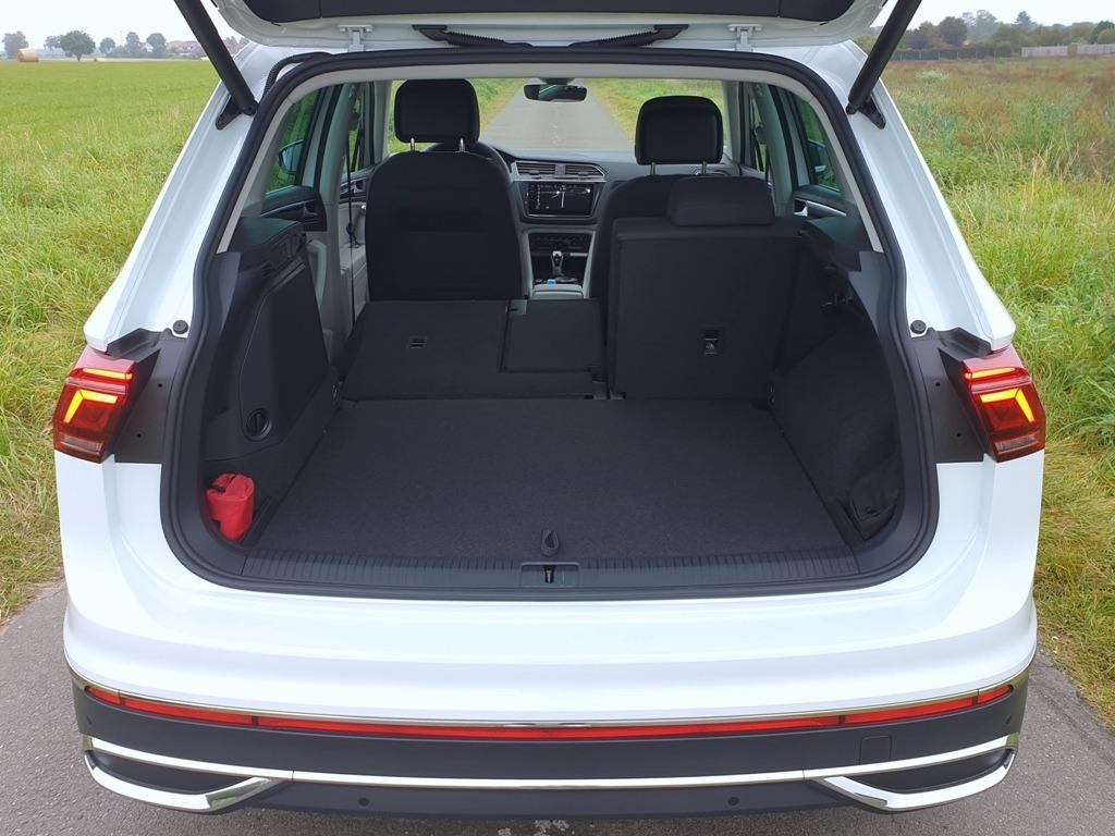 Kofferraum im neuen VW Tiguan
