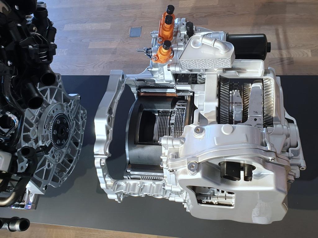 eHybrid DSG mit Kupplung für E-Antrieb
