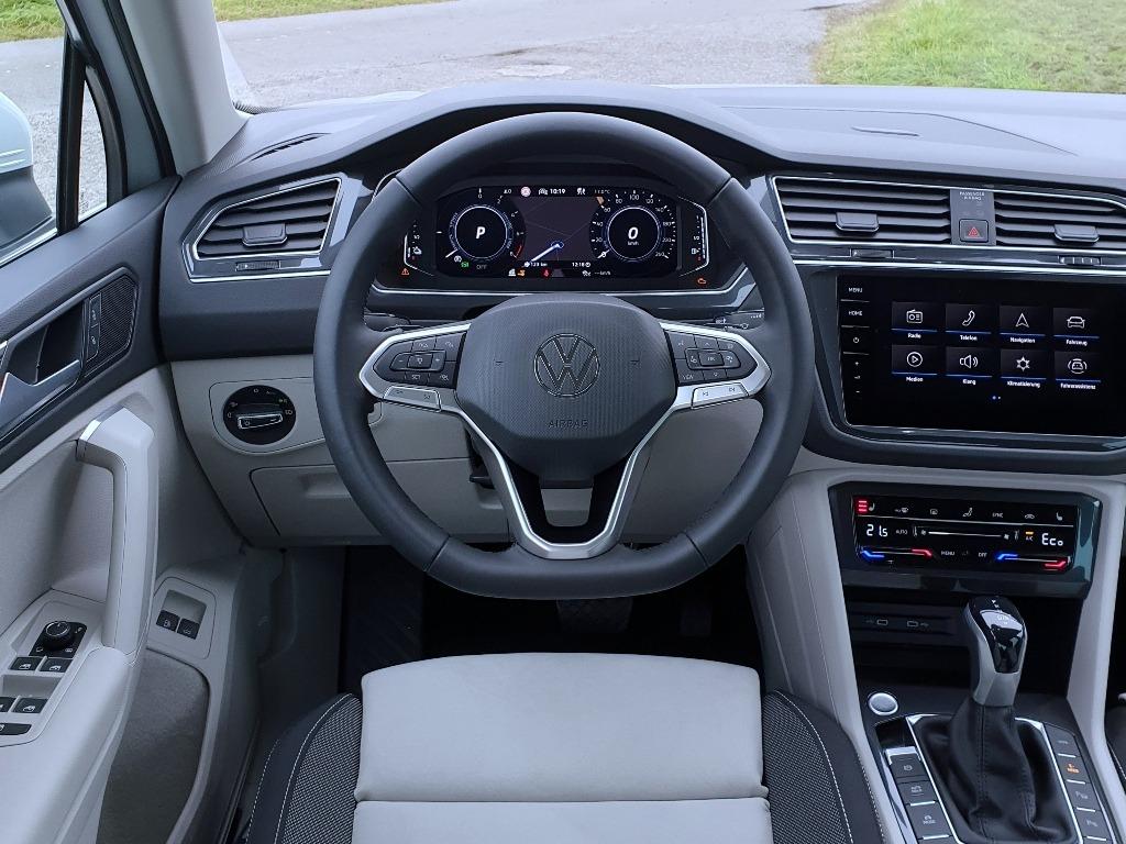 Tiguan Elegance Armaturenbrett mit Digital Cockpit Pro