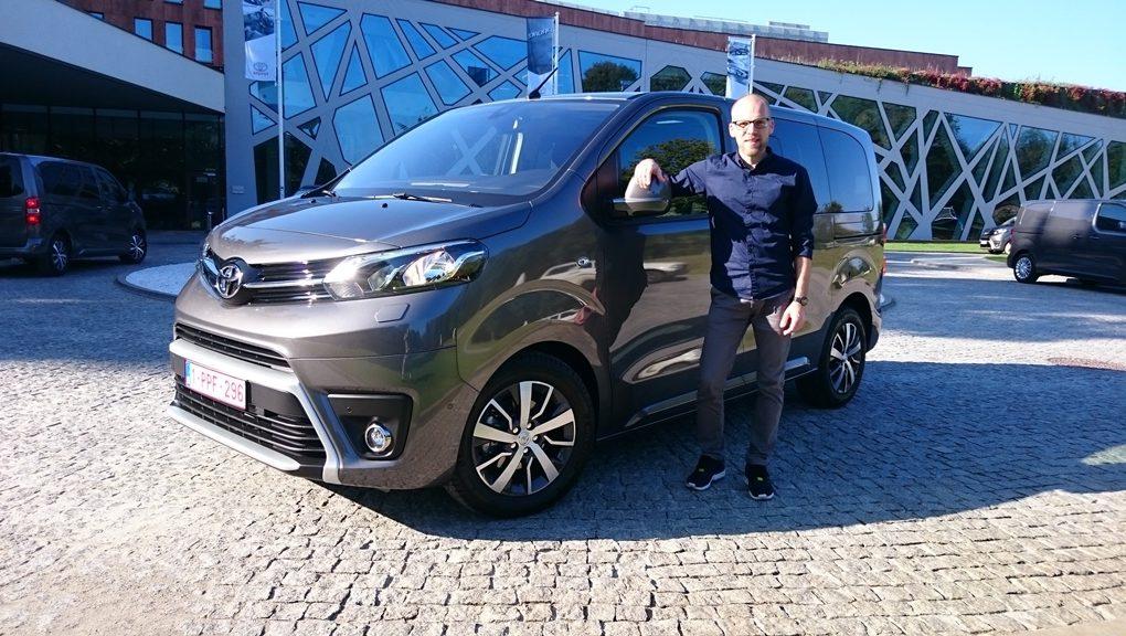Toyota Proace Verso, Daniel Przygoda
