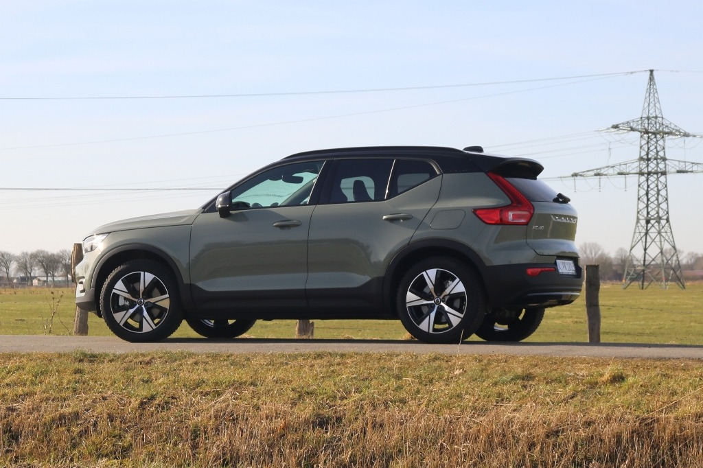 XC40 Recherge (2021) Sage Green - E-Auto Test