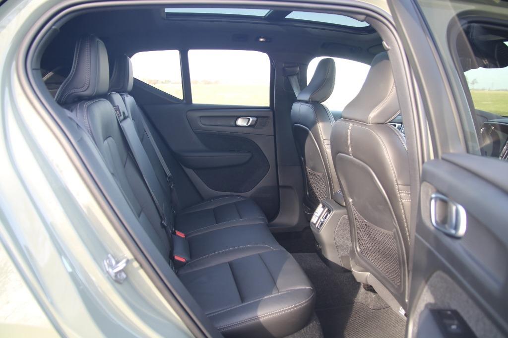 Sitze hinten (Leder) Rücksitzbank
