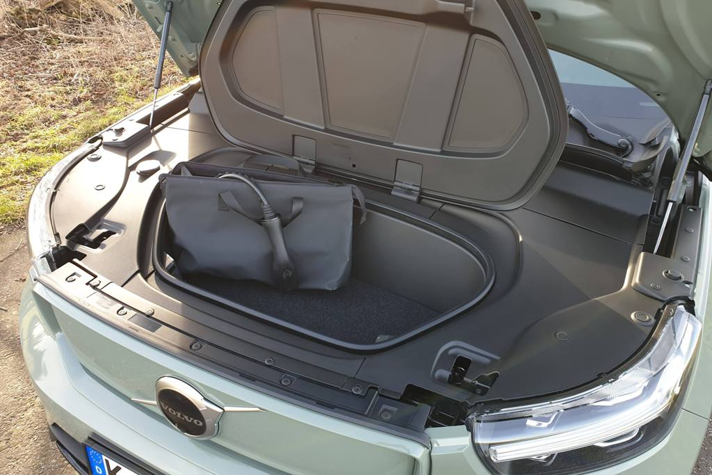 Kofferraum vorne (Frunk) Motorhaube